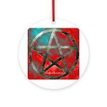 Firecloud Pentacle Ornament - Pendant