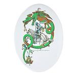 Green Dragon Ornament / Pendant