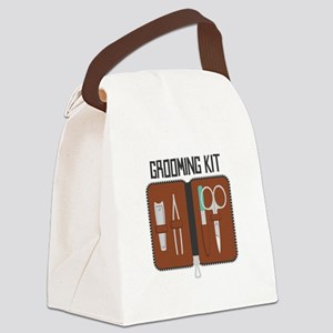 Grooming Kit Canvas Lunch Bag