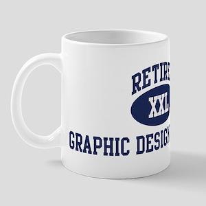 Retired Graphic Design Teache Mug