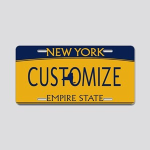 New York Custom Aluminum License Plate