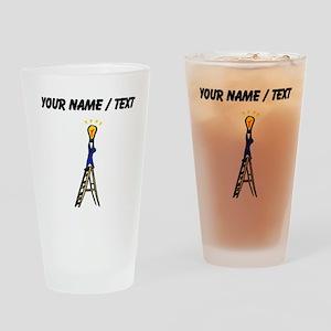Custom Electrician Drinking Glass