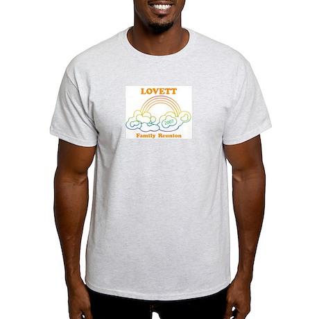 LOVETT reunion (rainbow) Light T-Shirt