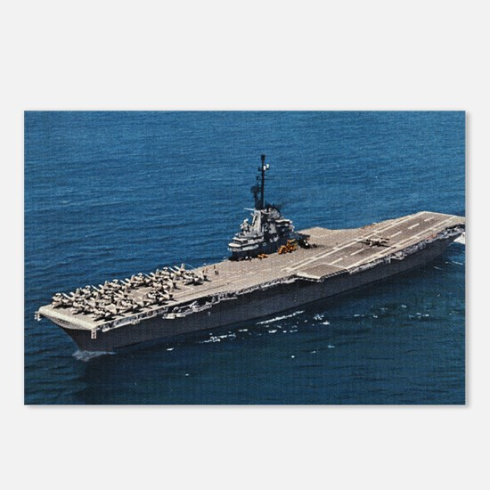 USS Hornet Ship's Image Postcards (Package of 8)