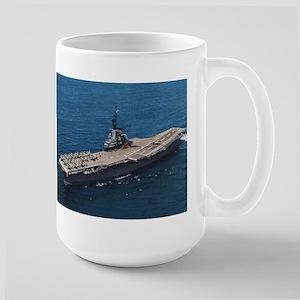 USS Hornet Ship's Image Large Mug