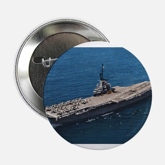 "USS Hornet Ship's Image 2.25"" Button"