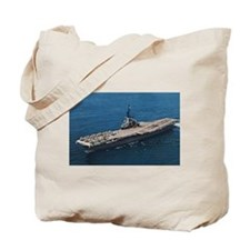 USS Hornet Ship's Image Tote Bag