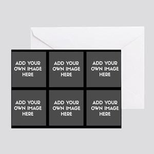 Add Your Own Image Collage Greeting Cards