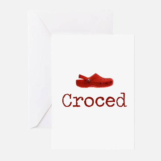 Croced Greeting Cards (Pk of 10)