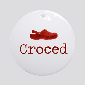 Croced Ornament (Round)