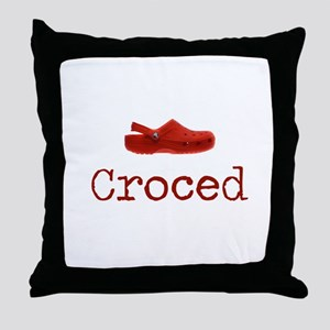 Croced Throw Pillow