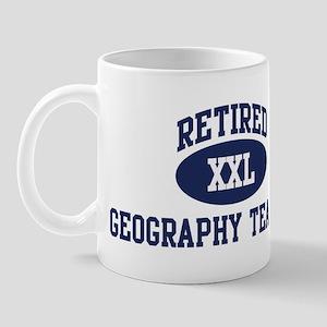 Retired Geography Teacher Mug