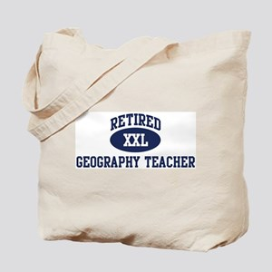 Retired Geography Teacher Tote Bag