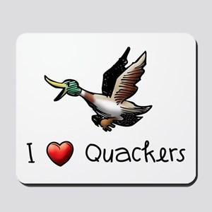 I-love-quackers Mousepad