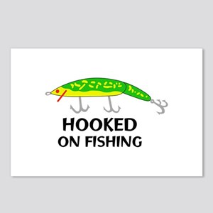 HOOKED ON FISHING Postcards (Package of 8)