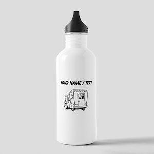 Custom Dog Catcher Water Bottle