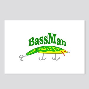 BASS MAN Postcards (Package of 8)