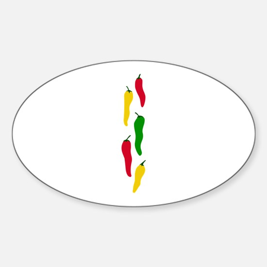 PEPPERS BORDER Decal