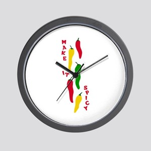 MAKE IT SPICY2 Wall Clock