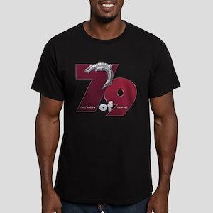 Seven of Nine Men's Dark Fitted T-Shirt