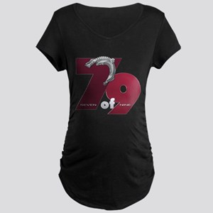Seven of Nine Dark Maternity T-Shirt