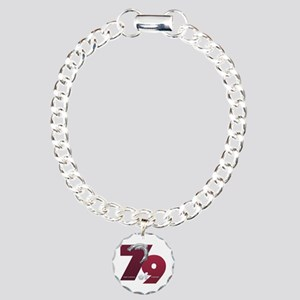 Seven of Nine Charm Bracelet, One Charm