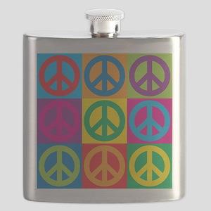 Pop Art Peace Flask