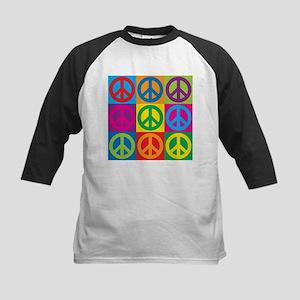 Pop Art Peace Baseball Jersey