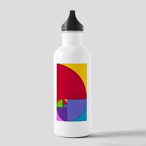 Fibonacci Mathlete Pop Stainless Water Bottle 1.0L