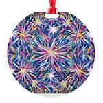 Star Burst Round Ornament