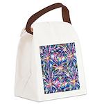 Star Burst Canvas Lunch Bag