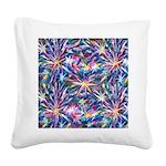 Star Burst Square Canvas Pillow
