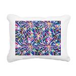 Star Burst Rectangular Canvas Pillow