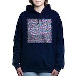 Star Burst Women's Hooded Sweatshirt