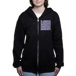 Star Burst Women's Zip Hoodie