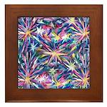 Star Burst Framed Tile