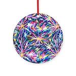 Star Burst Ornament (Round)