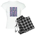 Star Burst Women's Light Pajamas