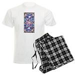 Star Burst Men's Light Pajamas