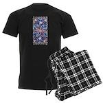 Star Burst Men's Dark Pajamas