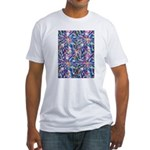 Star Burst Fitted T-Shirt