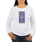 Star Burst Women's Long Sleeve T-Shirt
