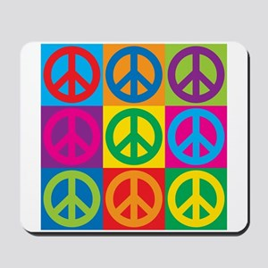Pop Art Peace Mousepad