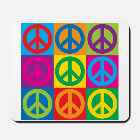 Pop Art Peace Mousepad