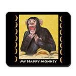My Happy Monkey Mousepad