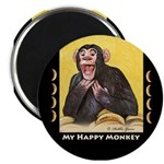 My Happy Monkey Magnet