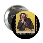 My Happy Monkey Button
