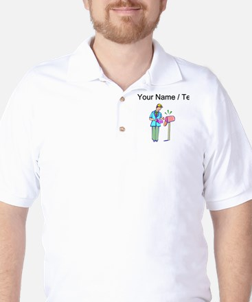 Custom Delivery Person Golf Shirt