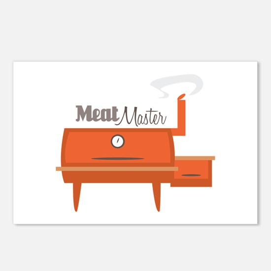 Meat Master Postcards (Package of 8)