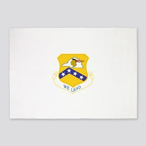 189th Airlift Wing 5'x7'Area Rug